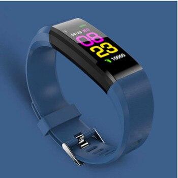 Reloj inteligente LYKRY, reloj para hombres, presión arterial, frecuencia cardíaca, monitor, Fitness seguidor, reloj inteligente para mujeres, reloj electrónico para IOS y Android