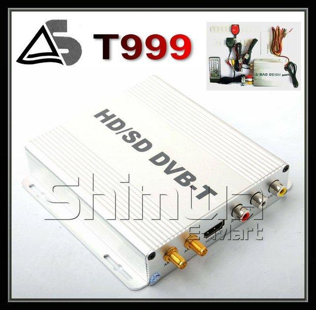 car TV box DVB-T receiver standards,MPEG 4 mobile tv box H.264/MPEG-4 mpeg4 DVBT-999B