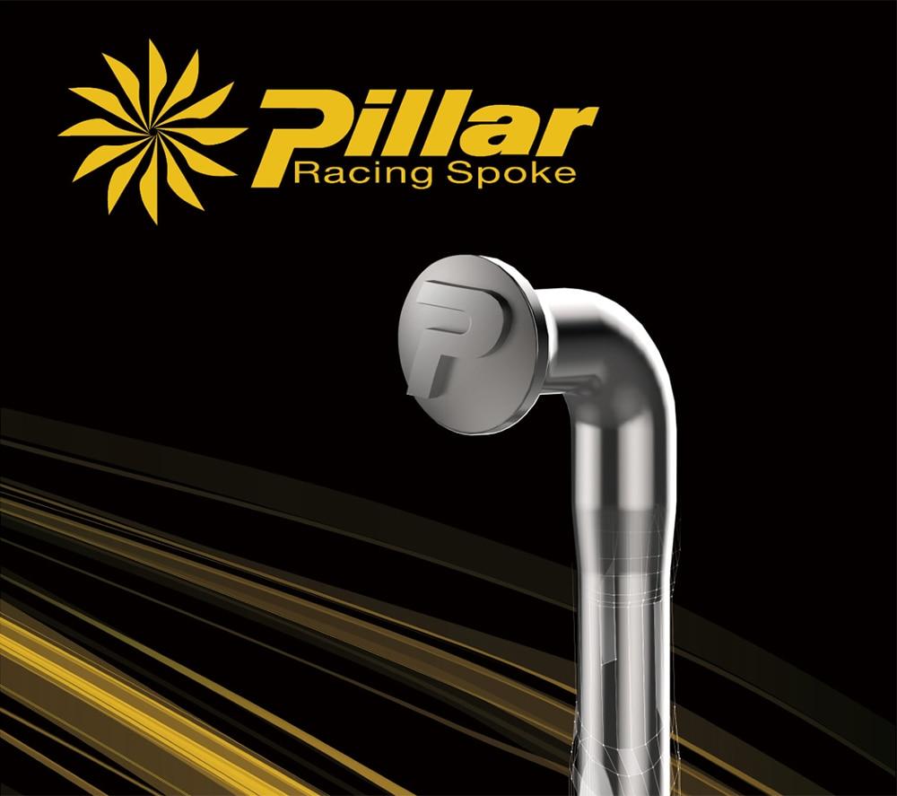 Bike Wheels Spoke Taiwan Pillar Spokes Wing 20 Series New Product 3D Force PSR Spoke Straight Pull Spokes