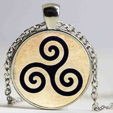 Factory price Teen Wolf necklace Triskele Triskelion Allison Argent Necklaces & Pendants handmade HZ1