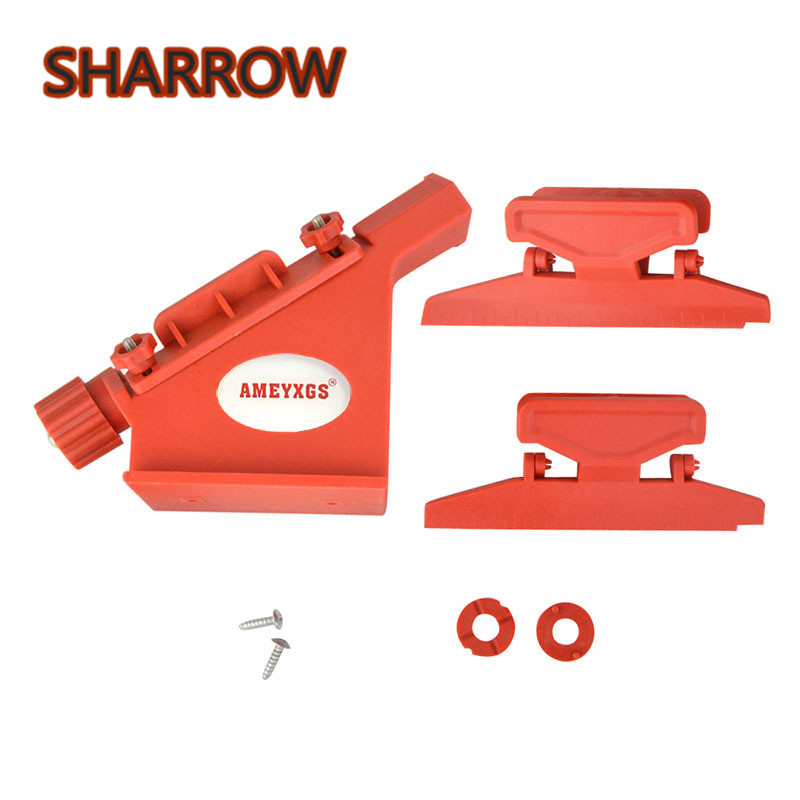 Archery Arrows Fletching Jig Straight Helical Clamps Feather Vane Tool DIY Stick