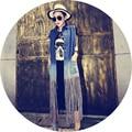 Бахромой длинные пункт жилет джинсовая куртка женская мода короткий жилет без рукавов пальто джинсы девушки старинные ковбой одежда