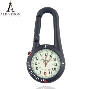carabiner clip pocket watch fo
