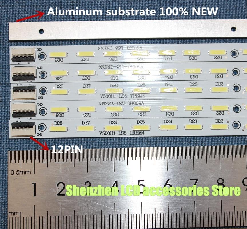 LED Backlight Strip For L500H1-4EB  V500H1-LS5-TLEM4 V500H1-LS5-TREM4 V500H1-LS5-TLEM6 V500H1-LS5-TREM6 L50E5090-3D V500HK1-LS5