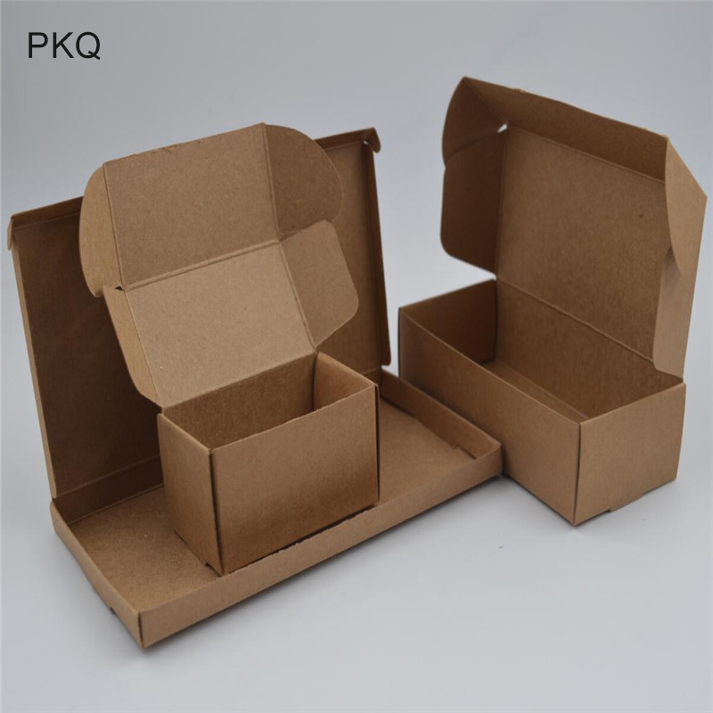 Festive & Party Supplies 75*75*30mm Black Red Black Craft Kraft Paper Box Packaging Box Wedding Party Small Gift Candy Jewelry Package Box With Window Latest Technology Event & Party