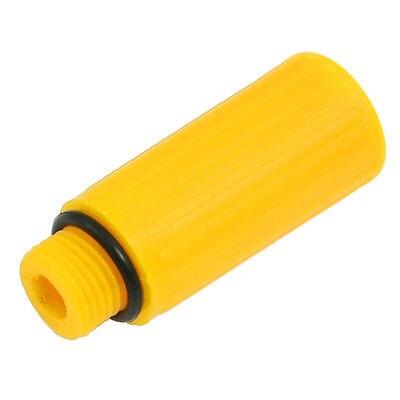 Yellow Screw Type Plastic Air Compressor Oil Plug 0.59 Dia [vk] 553602 1 50 pin champ latch plug screw connectors