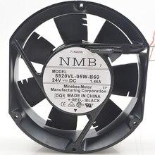 Новый оригинальный DC24V 1.46A 5920VL-05W-B60 17251 17 см/см инвертора вентилятора