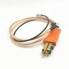 Integrated spot welder spot welding pen handheld portable with trigger switch length 60cm 18650 battery spot welder accessories