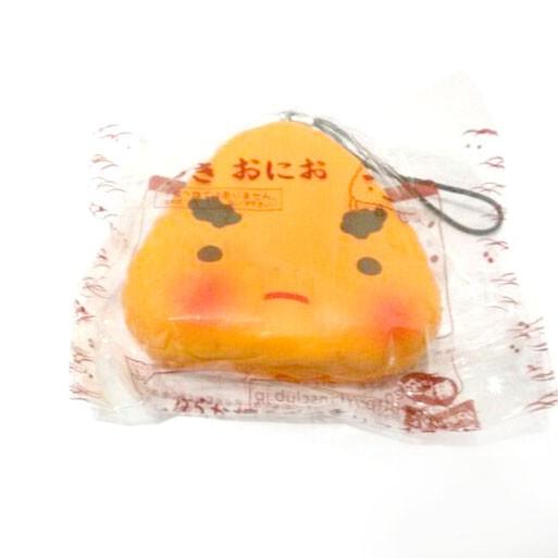 Kuutti Squishy Random 1 pc Lovely Japan Sushi Food emoji rice Kawaii Mobile phone strap New Arrival Hard PU 3
