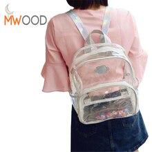 2017 популярные дизайнерские ПВХ прозрачный Рюкзак Женщины моды лазера Бусины и бисер сумка девушка мини повседневная школьная сумка дорожная сумка Mochila