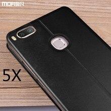 Xiaomi mi5X чехол Xiaomi 5x чехол откидная крышка MOFI оригинальный Xiaomi mi5X Дело держатель полное покрытие золото Капа Coque Принципиально 5.5″