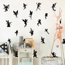 20pcs Fairy Tale Wall Sticker Baby Nursery Girl Room Cartoon Decal Kids Vinyl Home Decor Art Mural
