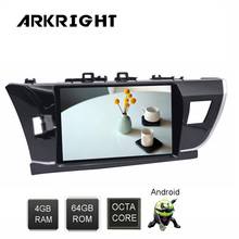 IPS Touch Screen 10.1 DSP Android 8.1 PX5 Octa Core Car Radio For Toyota Corolla 2014-2016 GPS Navi Wifi Rear View Camera