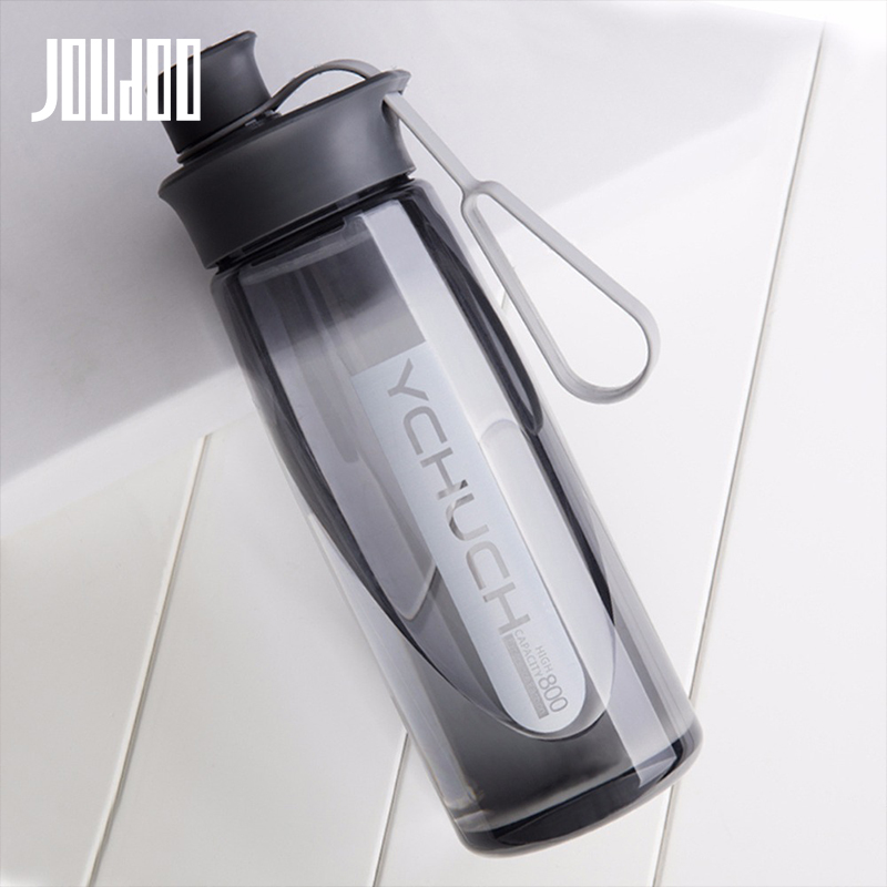 JOUDOO Water Bottle Protein Shaker Portable Bottle Sports Camping Hiking Water Bottle With Tea Infuser Plastic Cup 600ML 35 Water Bottles    - AliExpress
