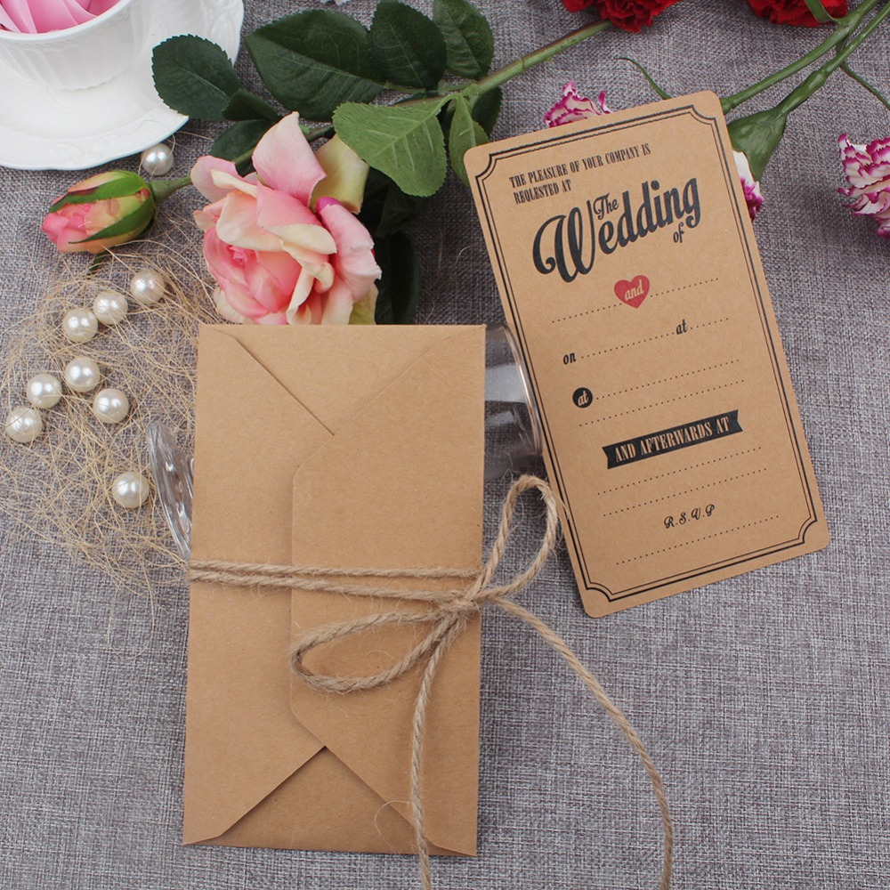 Online Buy Wholesale vintage wedding invitations from