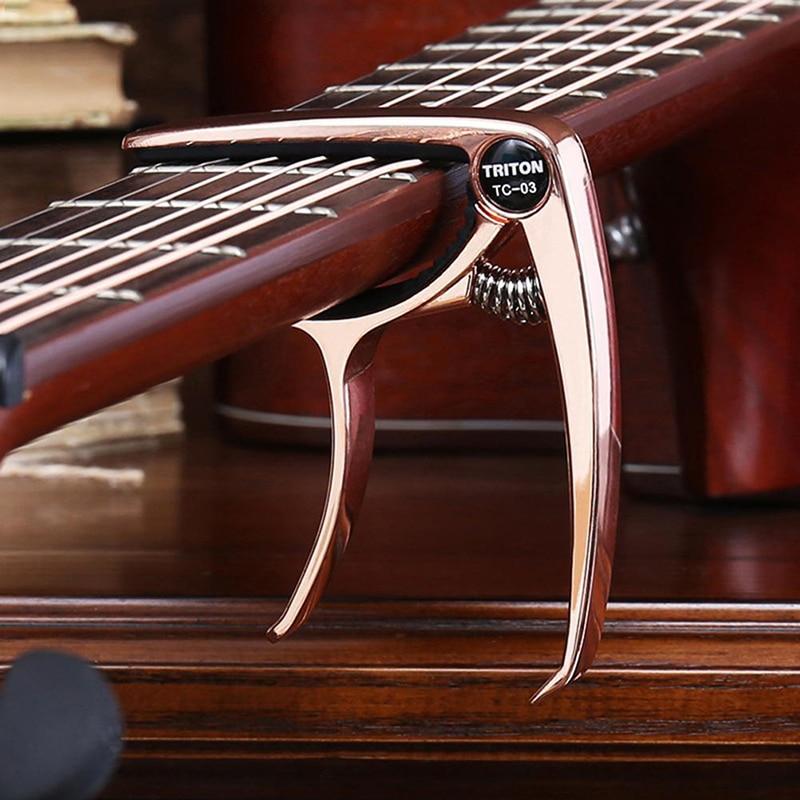 Aliuminio lydinio metalo gitaros kapo greito keitimo spaustuko - Muzikos instrumentai - Nuotrauka 6