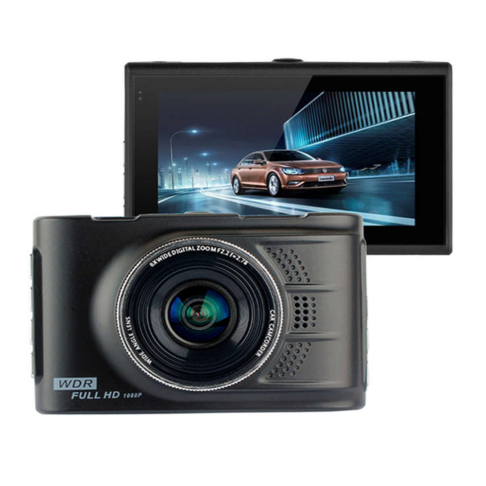 100 Original Car DVR Novatek 96223 Podofo FH03 Camera 3 0 inch Full HD 1080P Recorder
