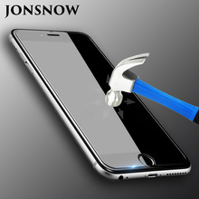 JONSNOW Tempered Protective Glass for iPhone 4 5 5s 6 6s 6 Plus 6s Plus iPhone 7 7 Plus 8 8 Plus Screen Film High Clear 2.5D 9H недорго, оригинальная цена