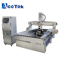 After Sales Service Provided Cnc Router 1325 With Rotary Attachemnt