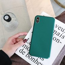 Phone Case For iPhone X XR Xs Max 7 8 Case Soft Silicone Cover For iPhone 6 6S 5 Case Protective Ultra Thin Cover стоимость