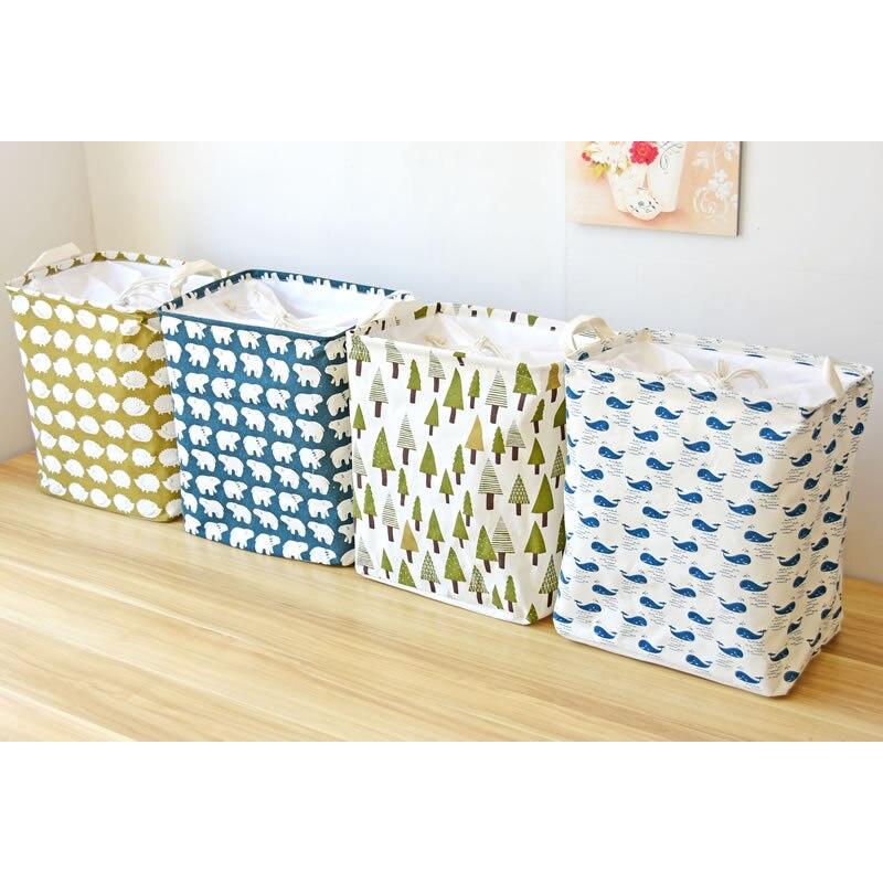 2019 New Wardrobe Kids Organizer Bins Box For Toys: Fabric Clothing Wardrobe Storage Baskets Baby Containers