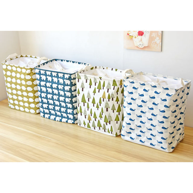 Fabric Clothing Wardrobe Storage Baskets Baby Containers Boxes