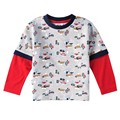 Boys cartoon t shirt children cotton long sleeve t shirt for boys kids spring autumn clothing A2291