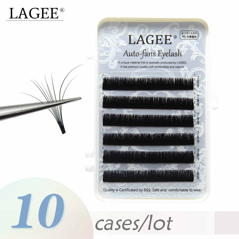 a392c70662e Detail Feedback Questions about LAGEE 10 cases Eyelash Extensions Auto fans  eyelash Easy fan lash 0.05mm Blossom Eyelash Russian volume fans false  eyelash ...