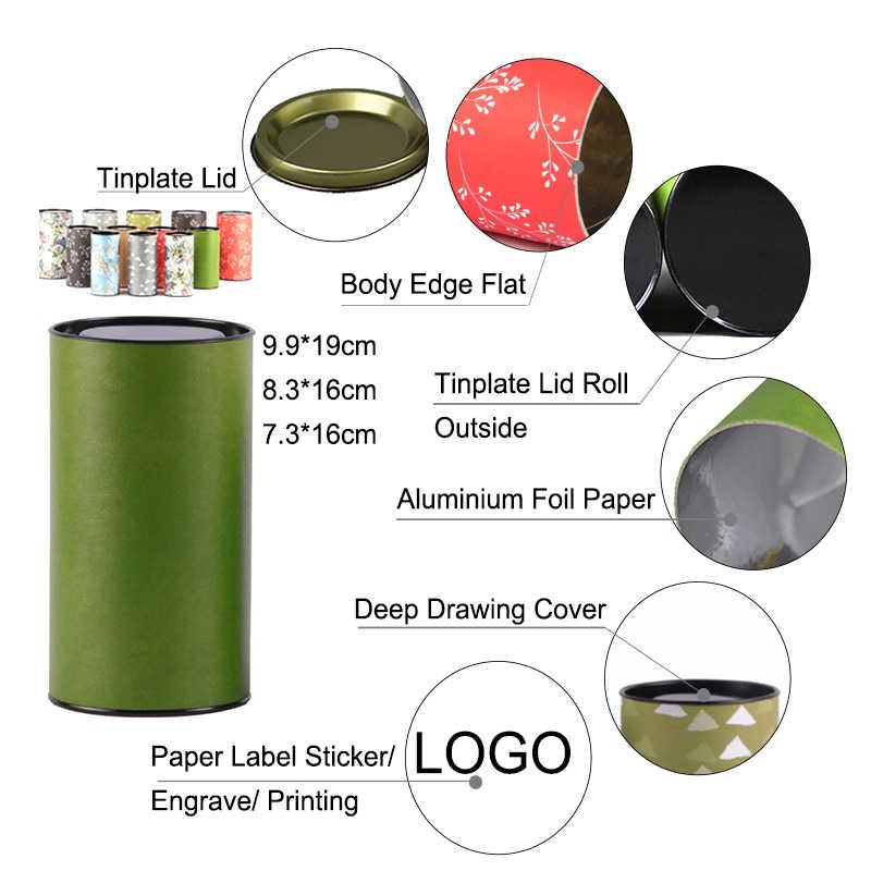 שין Jia Yi אריזה פחיות מודפס פופולרי צבע צינור עם פח מכסה אטום תחתון מכירה לוהטת קרפט עגול תיבת משלוח מזון כיתה PP תיק