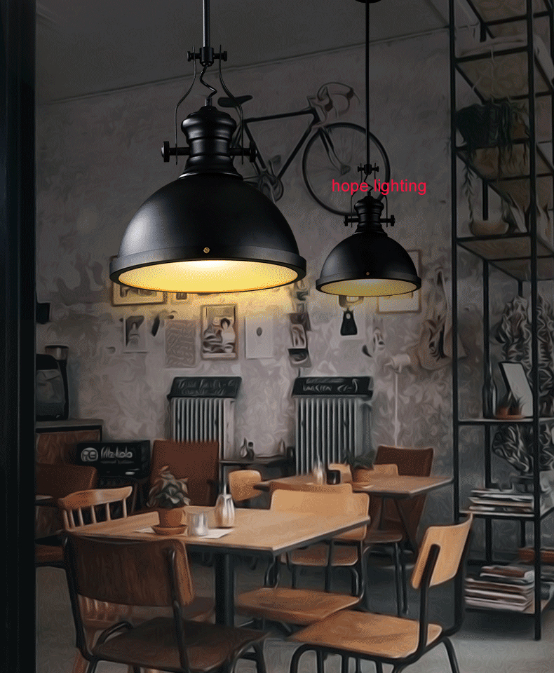 industrial style pendant lighting restaurant industrial hanging l& decorative pendant lights edison suspension retro l&-in Pendant Lights from Lights ... & industrial style pendant lighting restaurant industrial hanging ... azcodes.com