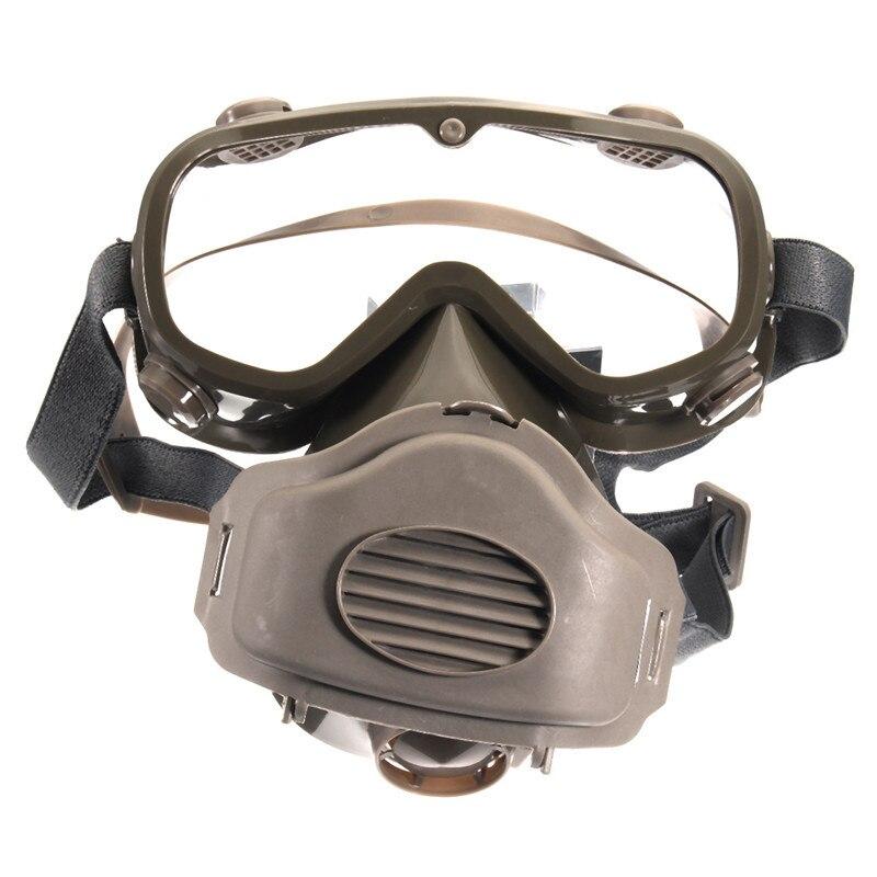 NEUE Safurance Staub Atemschutzmaske Halbe Gesichtsmaske Farbe Atmen Gas Schutz Gläser Arbeitsplatz Schutzmasken Filter