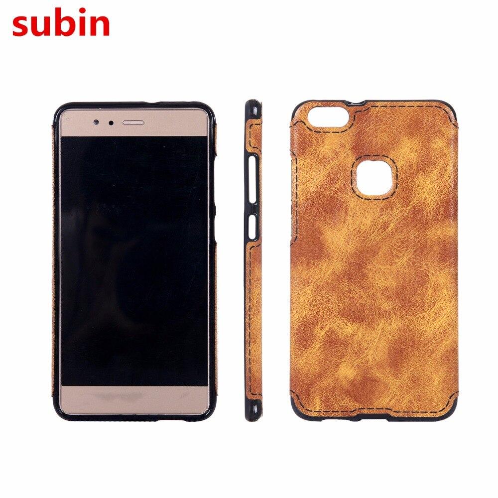 Pro Huawei P10 Lite Pouzdro Soft TPU Leather Paste Skin Silikonový kryt Pro Huawei P10 Lite Duální 5,2palcové pouzdra na telefonní tašky