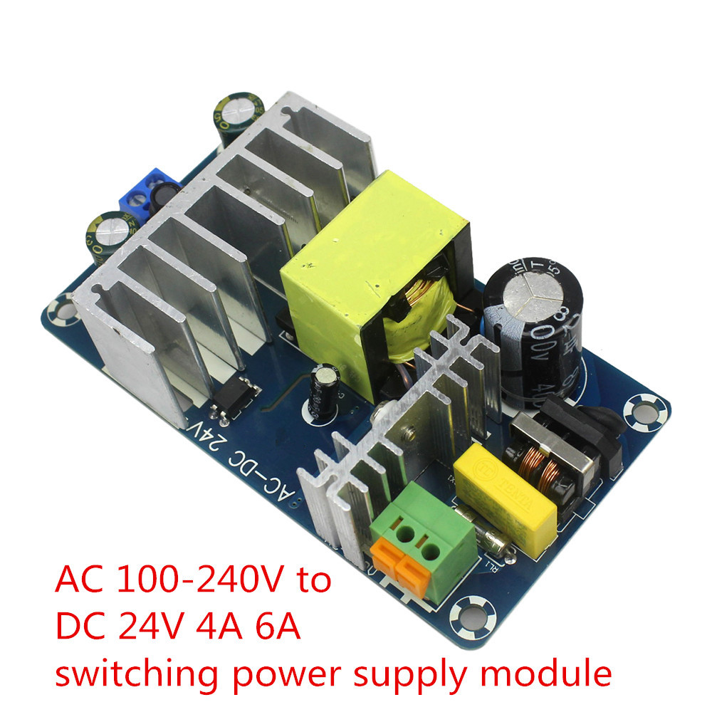 Intelligente Elettronica AC 100-240 V a DC 24 V 4A 6A Switching Power Supply Module AC-DC