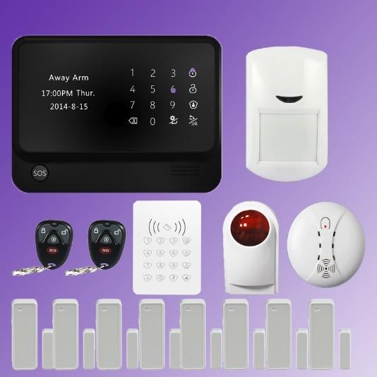 433mhz  wifi alarm GSM GPRS Home Security Alarm System   APP control   outdoor wireless siren  smoke detector  PIR detector433mhz  wifi alarm GSM GPRS Home Security Alarm System   APP control   outdoor wireless siren  smoke detector  PIR detector