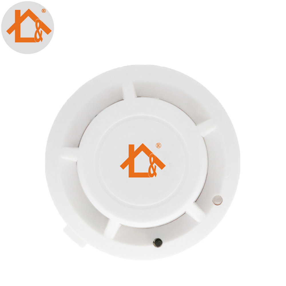 Free Shipping Independant Smoke Fire Detector Sensor For House/home/bank Building 1pcs Pure Whiteness Smoke Detector Back To Search Resultssecurity & Protection