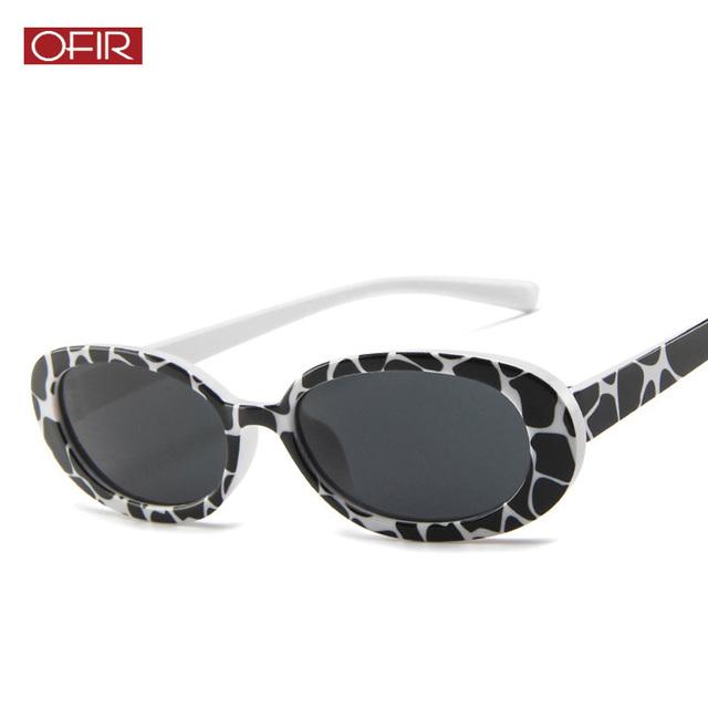 2019 Retro Vintage Oval Round Sunglasses Men Women Sunglasses Shades Brand Designer Small Frame Cool Sun Glasses Oculos De Sol