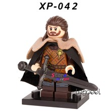1PCS model building blocks action superheroes Eddard Stark Game of Thrones Collected diy toys for children gift(China)
