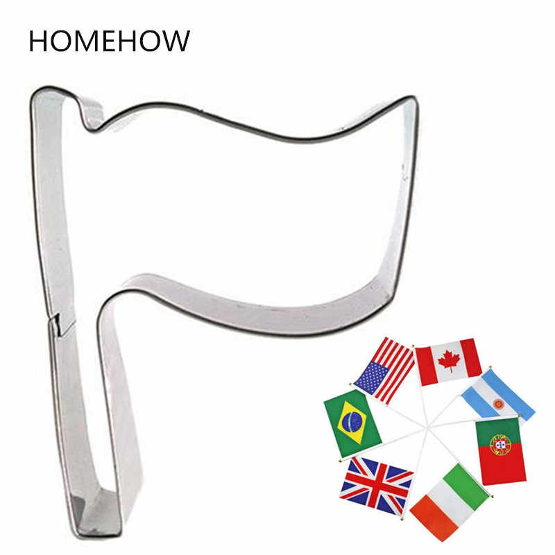 cookie cutter diy kitchen accessories country flag biscuit cookie cutting tool H