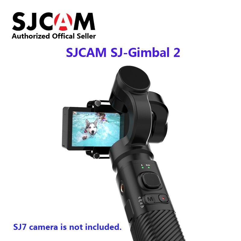 SJCAM Cardan SJ-Cardan 2 Stabilisateur 3 Axes Contrôle Bluetooth pour SJ6 SJ7 SJ8 Pro/Plus /SJ500X Caméra D'action pour Yi Cam