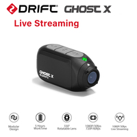 Drift Ghost X Action Camera Ambarella A12 1080P 30FPS 140 Degree Wide Angle Sports Camera for Motocycle and Mountain Bike