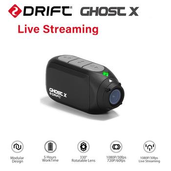 Drift Ghost X kamera akcji Ambarella A12 1080P 30FPS 140 stopni szerokokątny kamera sportowa do motocykli i rowerów górskich tanie i dobre opinie SONY IMX117 (1 2 3 12 MP) Ambarella A12 (4 K 30FPS) O 12MP 2000mAh 1 2 8 cali Sporty ekstremalne Początkujący Profesjonalne