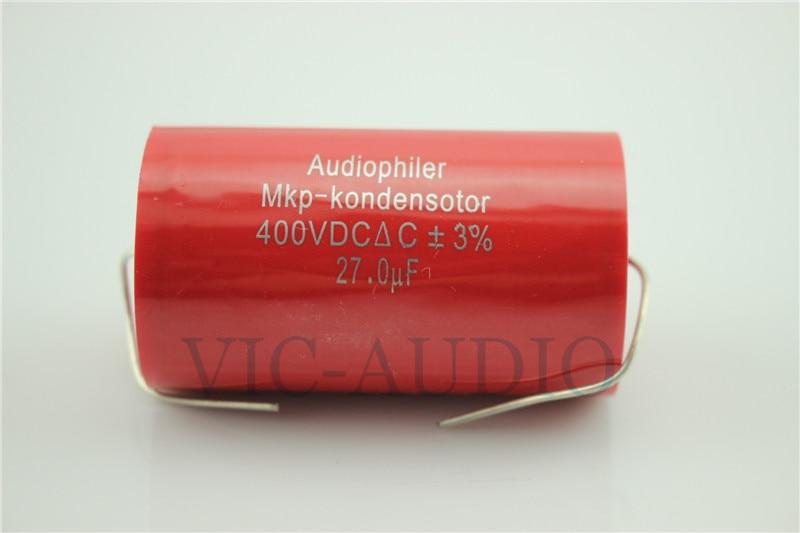 1PC Audiophiler MKP-Kondensotor 400VDC 27uf Capacitance 400V 27.0UF 3% Audio Capacitor Free Shipping