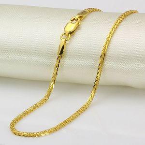 New Pure Fine 18K Yellow Gold