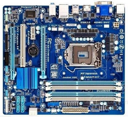 GA-Z77M-D3H LGA 1155 DDR3 Z77M-D3H boards 32GB Micro-ATX Z77 Desktop Motherboard