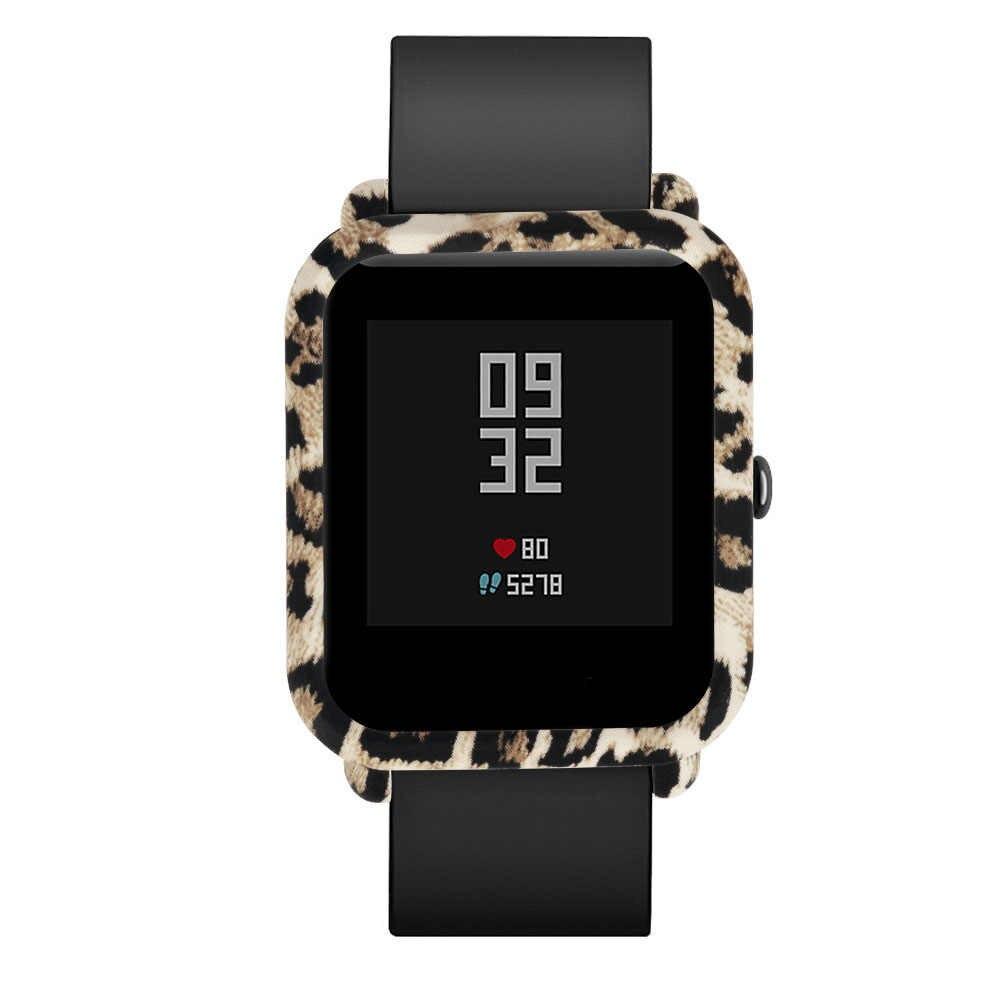 Funda protectora y Protector de pantalla para Huami Amazfit Bip Younth reloj funda protectora colorida y delgada