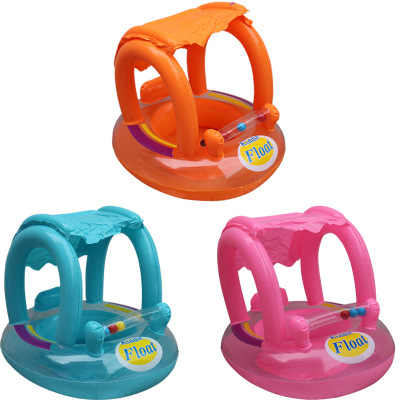 2 цвета плавать ming плавать кольцо + чашка набор дети ребенок солнцезащитный тент сиденье INS надувной летний плотик, игрушки играть