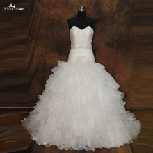 yiaibridal RSW193 Beaded Belt Puffy Skirt Ball Gown Wedding