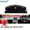 Auto Dashboard Abdeckung Matte für Jaguar xf XFL 2010-2015 Rechtslenker Dashmat Pad Dash Mat Umfasst Dashboard zubehör