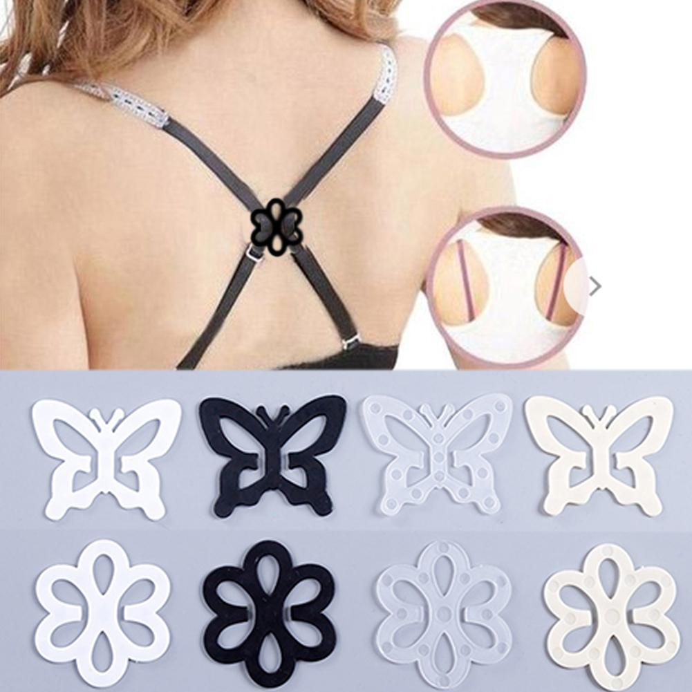 1pc Hot Sale Butterfly-Shaped Practical Underwear Accessories Invisible Bra Buckle Fashion Webbing Bra Buckles Droppshipping