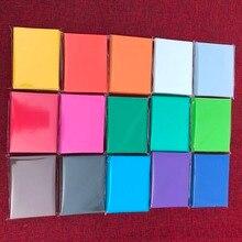 15 цветов 100 шт./лот красочные матовые карты рукава MTG карты/прокси карты протектор, Волшебная настольная игра карты щит рукава